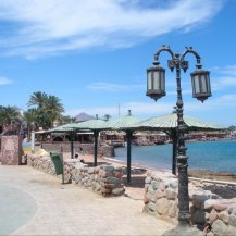 Dahab, Egypt - Off of the coast of the Gulf of Aqaba, which connects to the Red Sea
