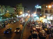 Outside Khan el Khalily in Cairo