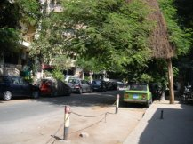 Zamalek, a neighborhood in Cairo where I used to live