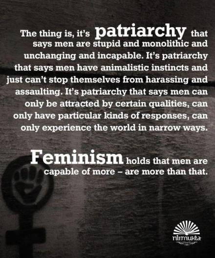 This is really all you need to know. via Men and Feminism