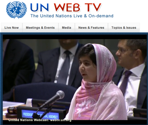 Malala UN speech