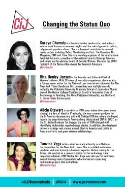 Panel 4 bios in conference program