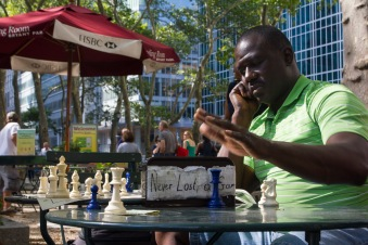 Bryant Park on August 10-11, 2013 by Lena Shareef